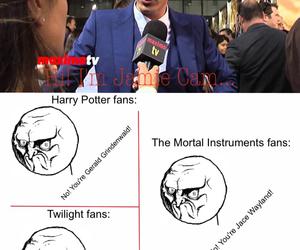 harry potter, twilight, and fandoms image