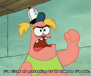 patrick, quote, and spongebob image