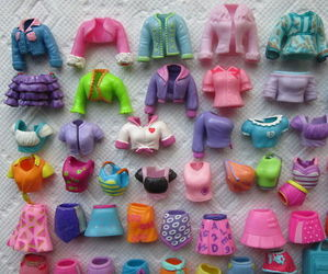 polly pocket, clothes, and polly image