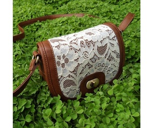 bag, lace, and cool image