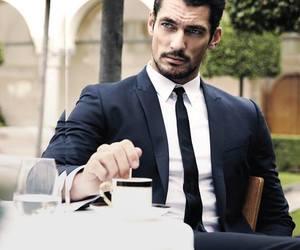 David Gandy, man, and suit image
