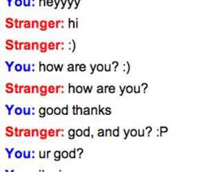 chat, funny, and omegle image