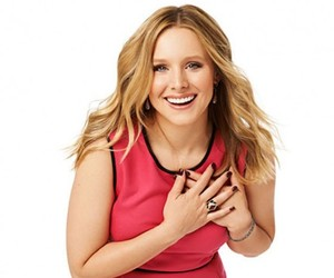 blond, kristen bell, and woman image