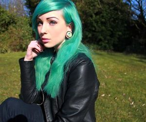 beautiful, british, and septum piercing image
