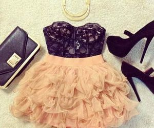 dress, cute, and outfit image