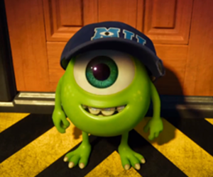 mike, monster, and disney image