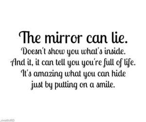 demi lovato, lies, and mirror image