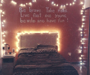 bedroom, teenager, and decoration image