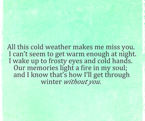 cold, quotes, and memories image