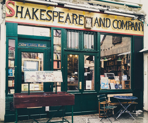book, shakespeare, and paris image
