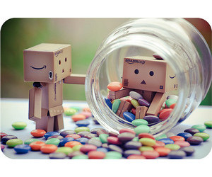 danbo, candy, and cute image