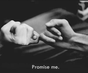 forever, friendship, and promise image