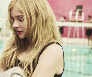 chloe moretz, blonde, and carrie image