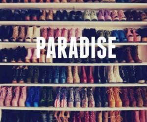 paradise, love, and shoes image