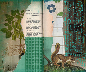 art journal, Collage, and mixed media image
