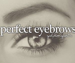beautiful, eyebrows, and pretty image