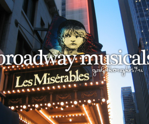 broadway and musical image