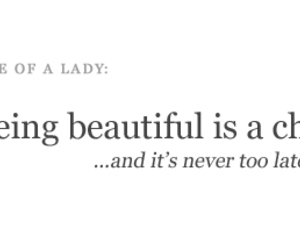 quote, lady, and text image