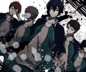 kuroko no basket, hanamiya, and badteam image