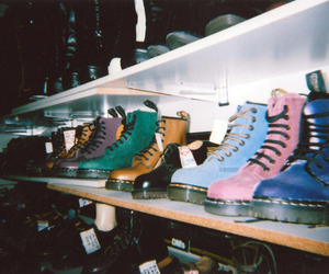 boots, colors, and doc martens image