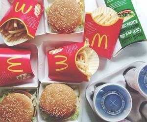 food, McDonalds, and yummy image
