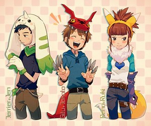 anime, digimon, and digimon tamers image