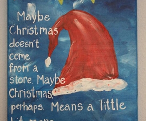 christmas, dr seuss, and quote image