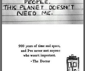 doctor who, quotes, and important image