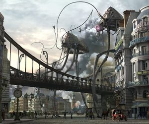 machines, war of the worlds, and hg wells image