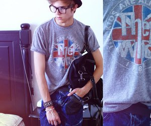 boy, glasses, and the who image