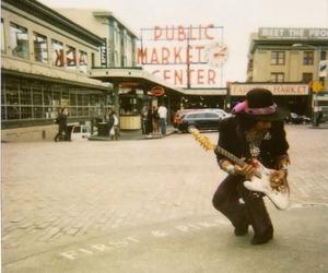 Jimi Hendrix and music image
