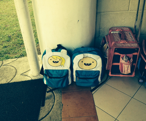 bags, finn, and fiona image
