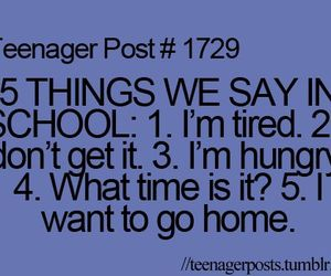 school and teenager post image
