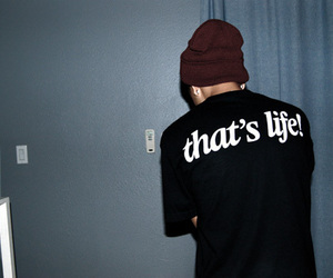 boy, life, and that's life image
