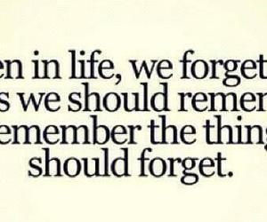 life, forget, and remember image