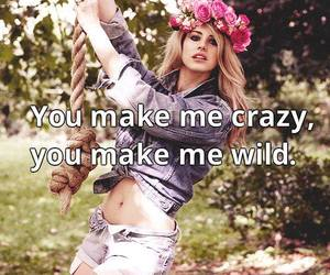 be wild, lana del rey, and be crayz image