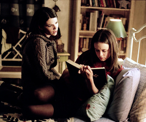 gilmore girls and book image