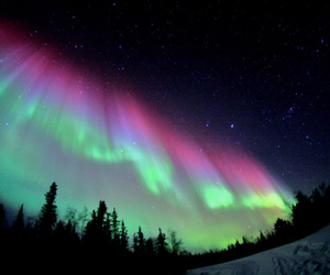 aurora, northern lights, and photography image
