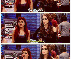 victorious, ariana grande, and cat valentine image
