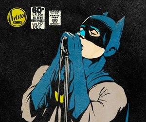 batman, lol, and superhero image