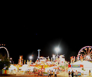 carnival, scenery, and fair image
