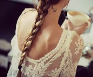 braid, lace, and fashion image