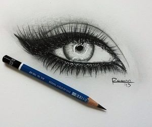 cry and draw eyes image