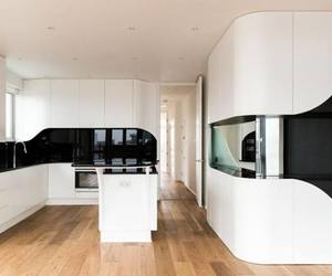 black and white, home decorating, and interior design image
