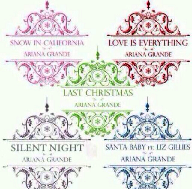 Christmas Kisses By Ariana Grande on We Heart It
