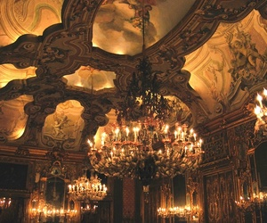 chandelier, art, and architecture image