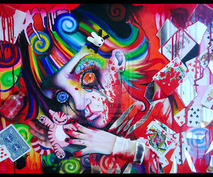 deviantart, paintings, and traditional art image