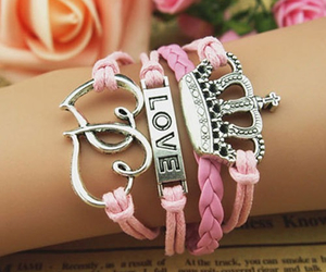 girly, jewelry, and love image