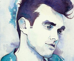 art, painting, and the smiths image