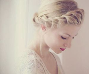 beauty, braid, and pretty image